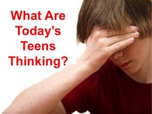 Thinking Teen Boy