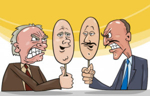 politicians two faced
