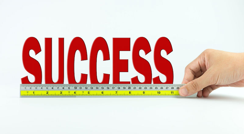 Success - Tape measure