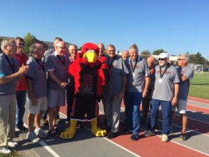Team with Red Hawk